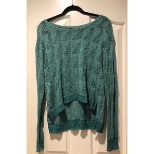 BDG Urban Outfitters turquoise sweater L like new